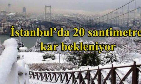 meteoroloji uzmanlarının dediği kar istanbul'a yağar mı